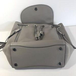 Michael Kors Bags - Michael Kora Evie gray leather backpack purse